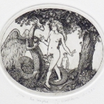 Eve Tempted - etching  4.5