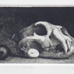 still life - etching  3.5x8.75
