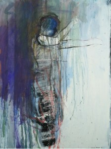Wistful Figure 48x36 2012