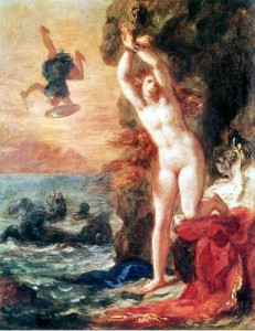 Delacroix-Persius &amp; Andromeda 1853