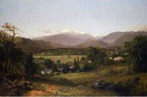 Mount Washington from the Valley of Conway -- 1869