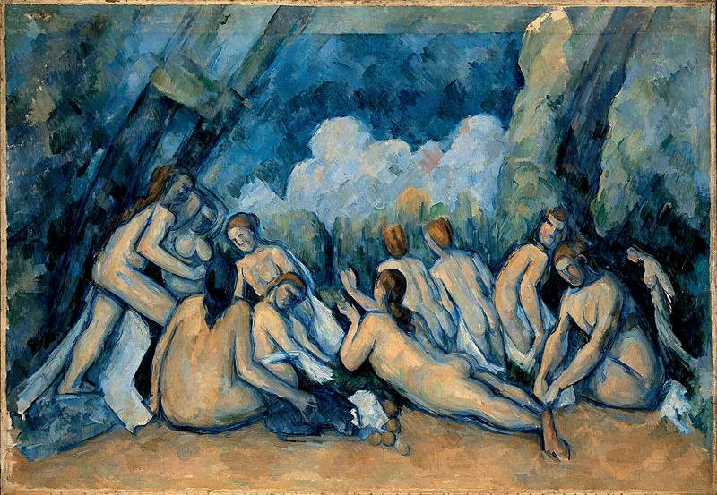 the large bathers c.1900 127x196cm (W'ped)