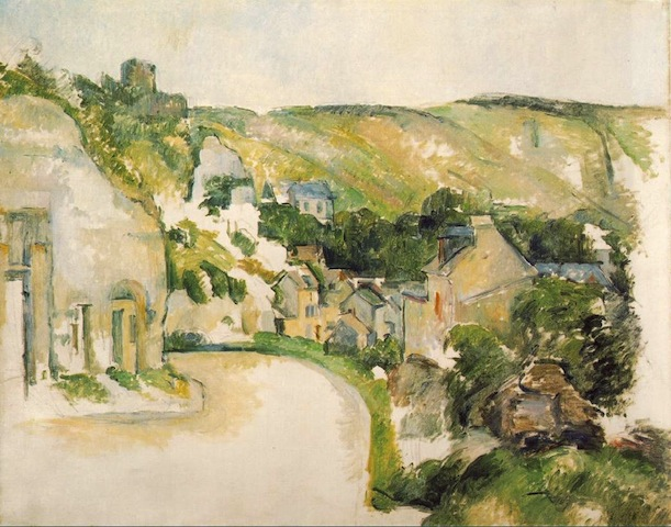 &quot;Landscape at La Roche-Guyon&quot; 1900-1906 [ibiblio.org]
