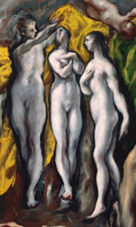 "El Greco - ""Vision of St. John"" (detail) c.1610"