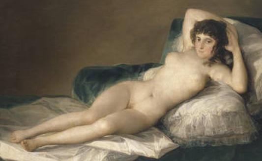 """Goya - """"Maja Desnuda"""" c.1797"""