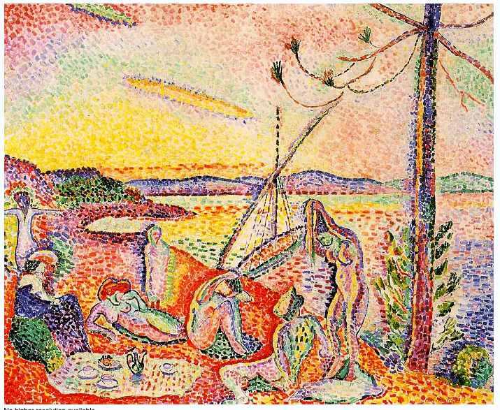 """""""Luxe, Calme, et Volupte"""" 1904"""