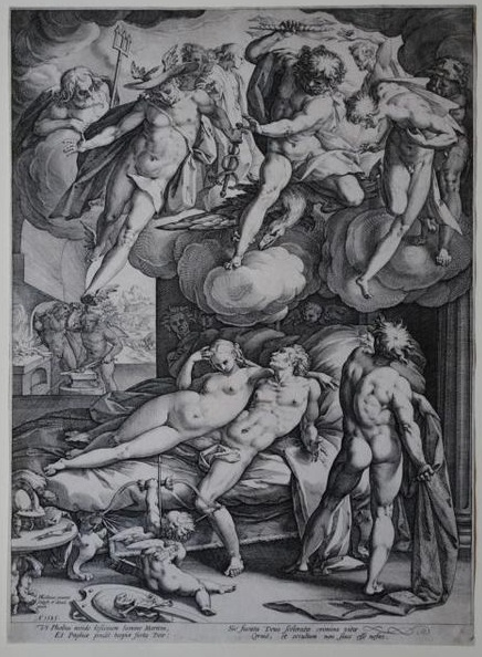 "Goltzius ""Mars and Venus"""
