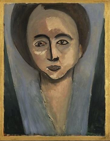 """Sarah Stein""  1916  28x22"" [San Francisco Museum of Modern Art.org]"