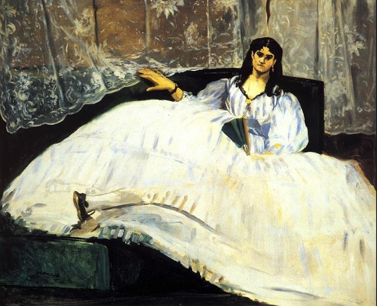 """""""Baudelaire's Mistress"""" 1862"""