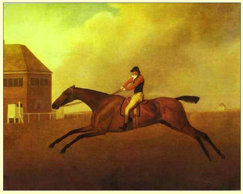 "Stubbs ""Baronet with Samuel Chifney"" 1791"