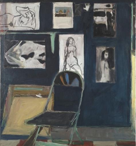 """studio wall""  1963  [artsy.net]"