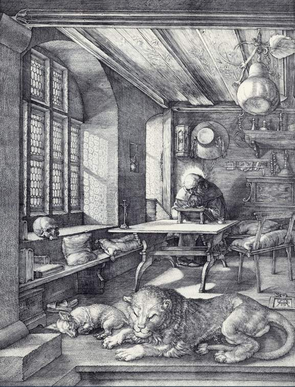 """St. Jerome in His Study"" 1514 [Wikipedia]"