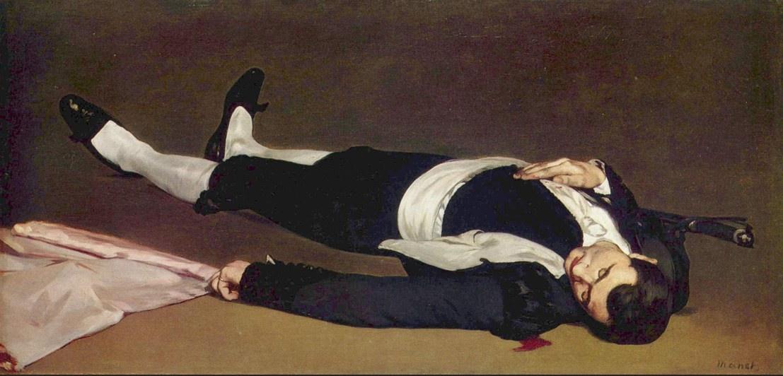 """""""Dead Toreador"""" 1865"""