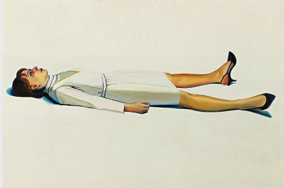 """Supine Woman"" 1963 dimensions [allartnews.com]"