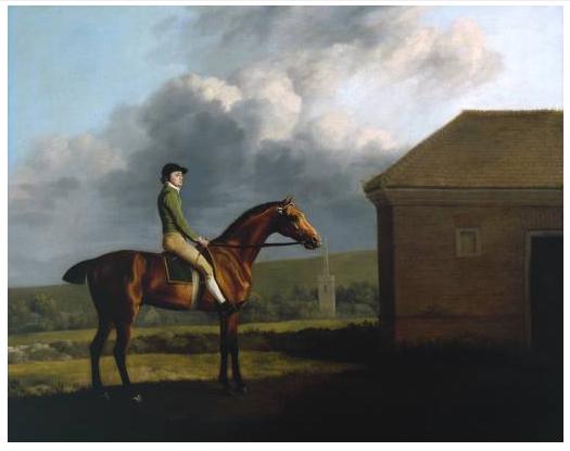 """Otho, with John Larkin up""  1768 [---]"