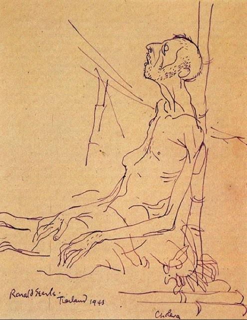 cholera patient - 1943