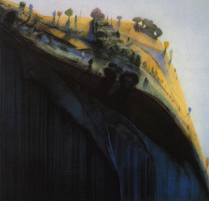 """Colma Ridge""  1967  74x75"" [artchive.com]"