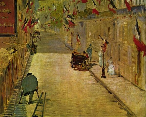 Manet  Rue Mosnier  1878  [........]