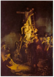 Rembrandt - Descent from the Cross  1634