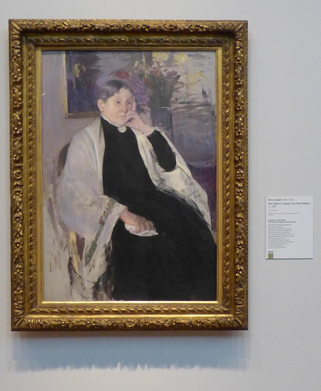 "Mary Cassatt  ""The Artist's Mother""  ca. 1889"