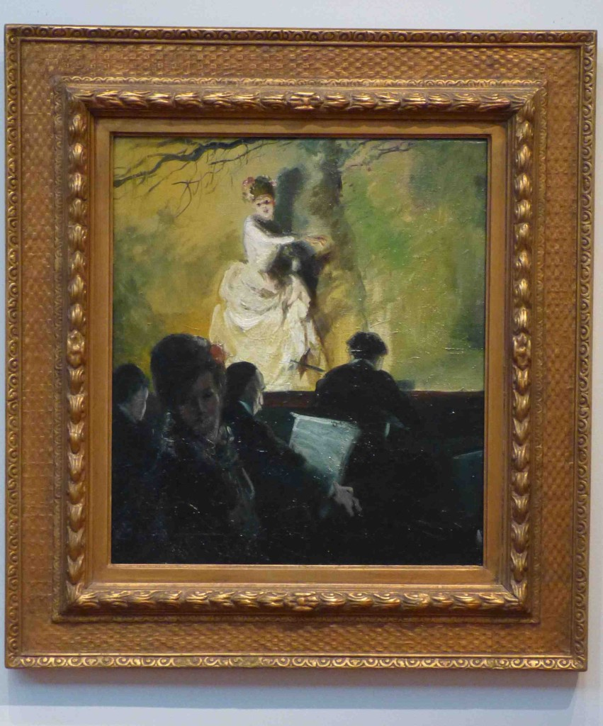 "Everett Shinn  ""Outdoor Stage, France"" ca. 1905"
