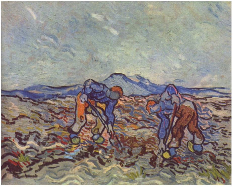 """farmers hoeing"" 1890 [  ]"