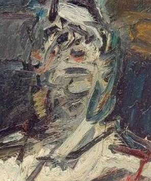"Frank Auerbach ""Face"""