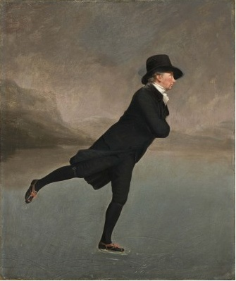 "Raeburn ""The Reverend Robert Walker Skating on Duddingston Loch"" c.1795 [scottishnationalgalleries.org]"