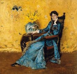 """""""Miss Dora Wheeler""""  Cleveland Museum of Art"""