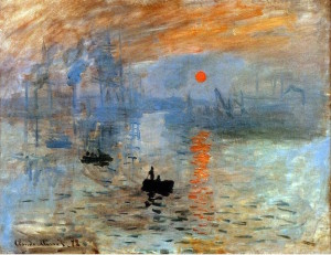 "Monet ""Impression, sunrise"" 1872   [W'ped]"