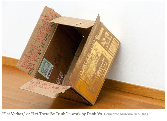 nyt 7_13_15 Danh Vo and Bert Kreuk's Battle