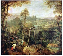 Bruegel - The Magpie on the Gallows 1568