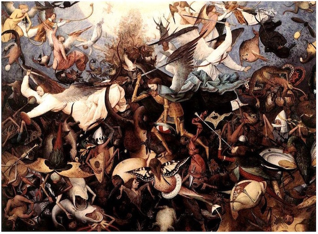 "Bruegel ""Fall of the Rebel Angels"" [W'ped]"