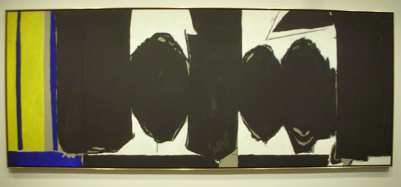 Elegy to the Spanish Republic (with Lemon-Yellow Panel0 1971