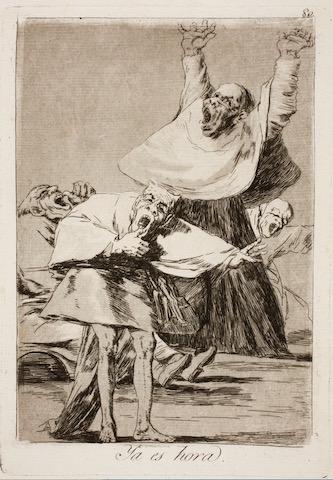 """Goya """"It's Time"""" c.1798 [w'ped]"""