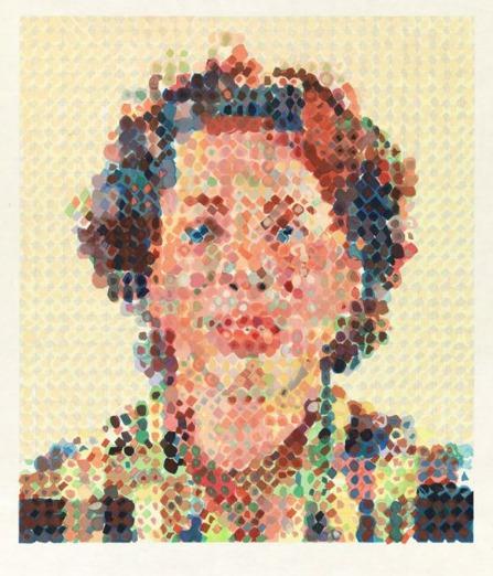"""""""Leslie"""" woodcut 32x25"""" 1986 [famsf.org]"""