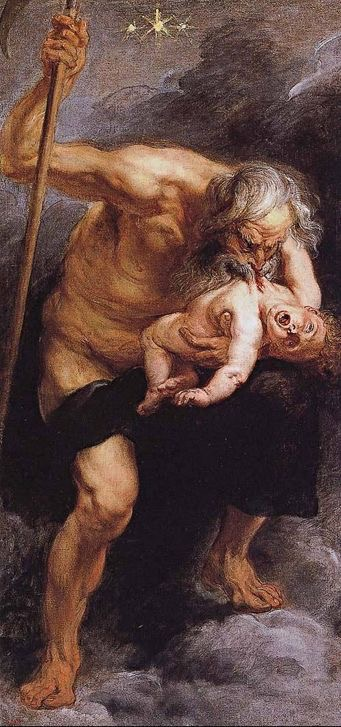 """Saturn Devouring His Child"" 1637 [W'ped]"