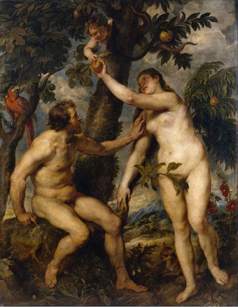 """Fall of Man"" 1628 [W'ped]"