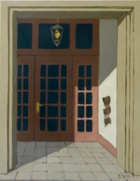 red-doorway