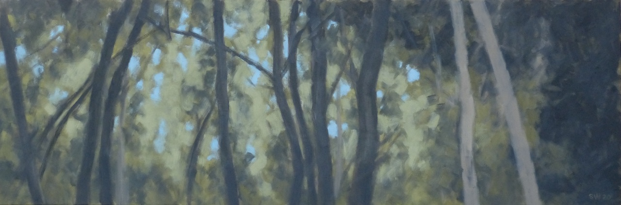 "5th grove of trees --18x54""  2020"