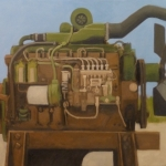 dismounted-engine