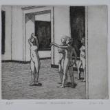 models discussing art '17
